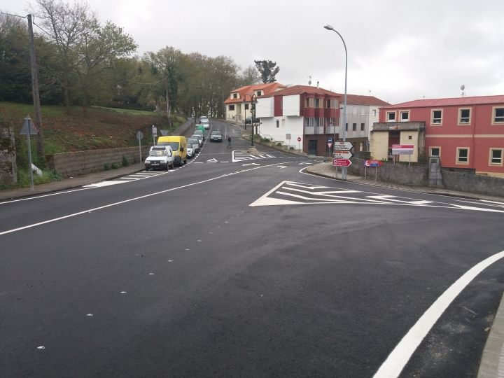 Acondicionamiento y mejora de la seguridad viaria en el PK 20+700 de la EP 7001 en Forcarei.
