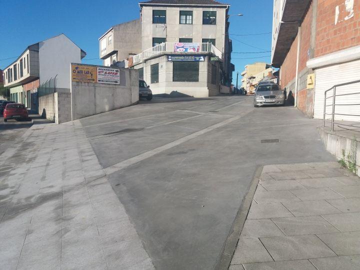 Reurbanización de la rúa Pinzón de Camariñas