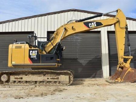 Retro cadenas Cat 320 E LRR