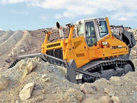 Bulldozer Liebherr 764