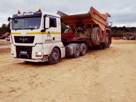 Camión con góndola
