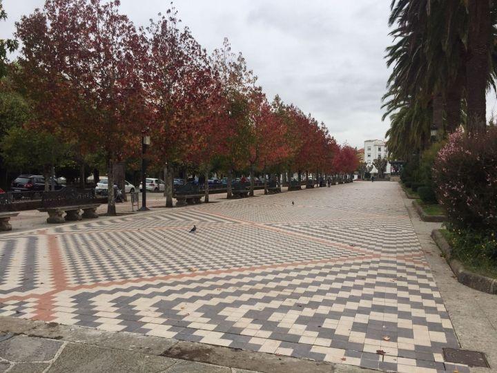 Pavimentación alameda de Noia.