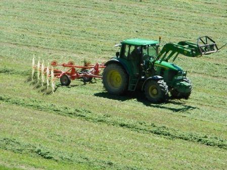 Tractor con estendedor